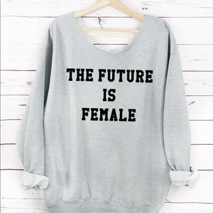 Sweaters - NEW The future is female Sweater, Womens sweater